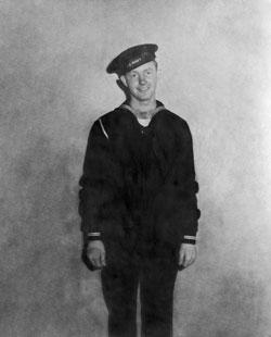 Ralph Moul in uniform