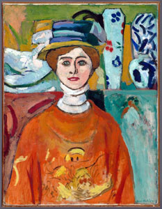 Girl with Green Eyes by Henri Matisse