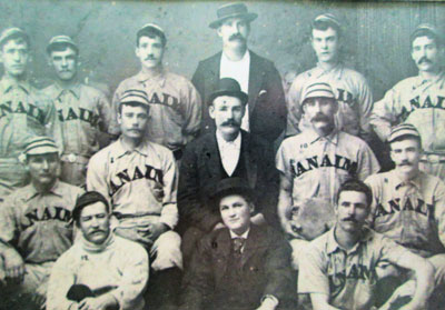 Baseball team of John C. Williams's father