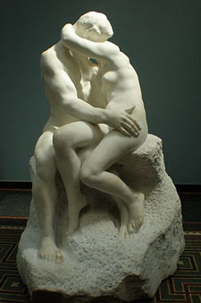 Photo by Philipp Weissenbacher of Rodin's Kiss