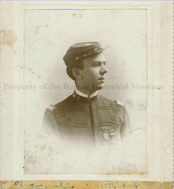 Alonzo Cushing in uniform