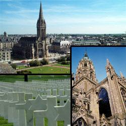Caen, cemetery, Bayeux