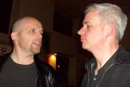 Simon Popek and Neil Young