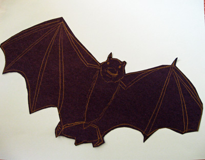 Drawing of bat