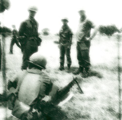 South Vietnamese soldiers in training in Vietnam