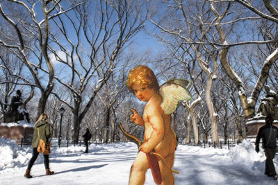 Cupid in Central Park
