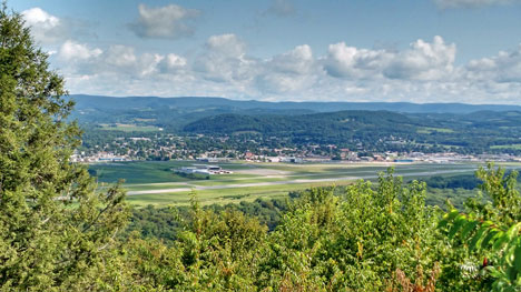 Williamsport Overlook by Alyce Wilson