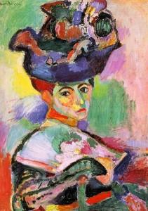 "Henri Mattise, ""Woman with a Hat"""