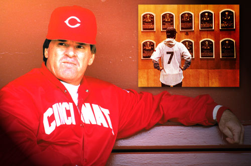 Pete Rose and Hall of Fame